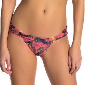 ViX Blossom Bia Floral Print Bikini Bottoms